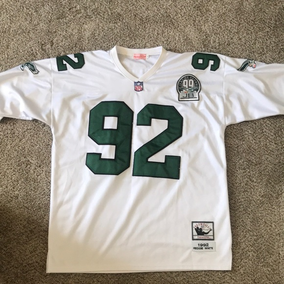 best loved b2715 316cd Authentic Mitchell & Ness Reggie White Throwback